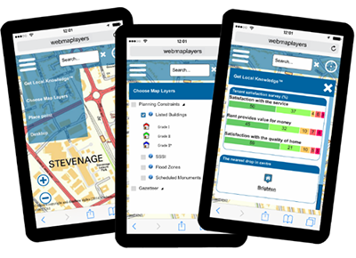 GIS on Smart Mobile Device